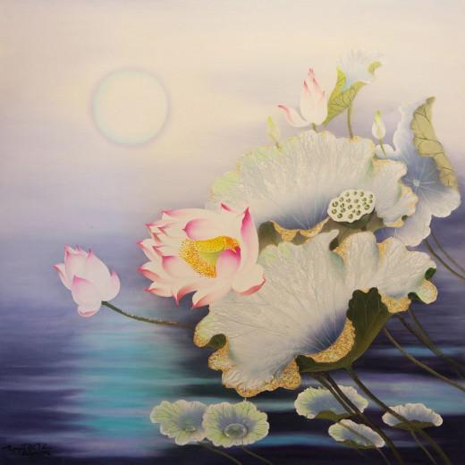 Lotus In The Night